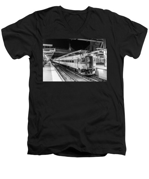 Commuter Rail Men's V-Neck T-Shirt