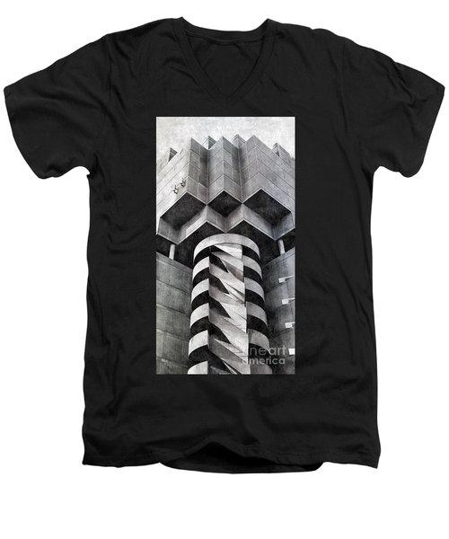 Concrete Geometry Men's V-Neck T-Shirt