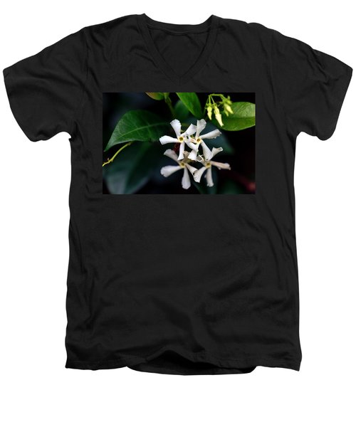 Confederate Jasmine Men's V-Neck T-Shirt