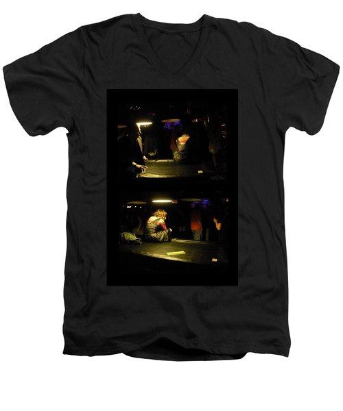 Conflicted Emotions Men's V-Neck T-Shirt