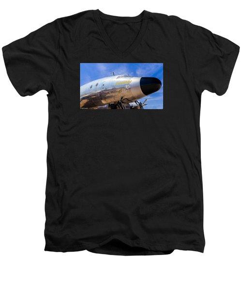 Constellation Columbine Men's V-Neck T-Shirt