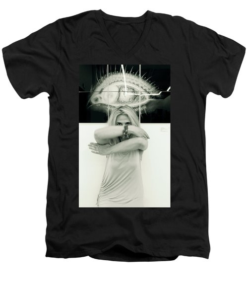 Contact Men's V-Neck T-Shirt