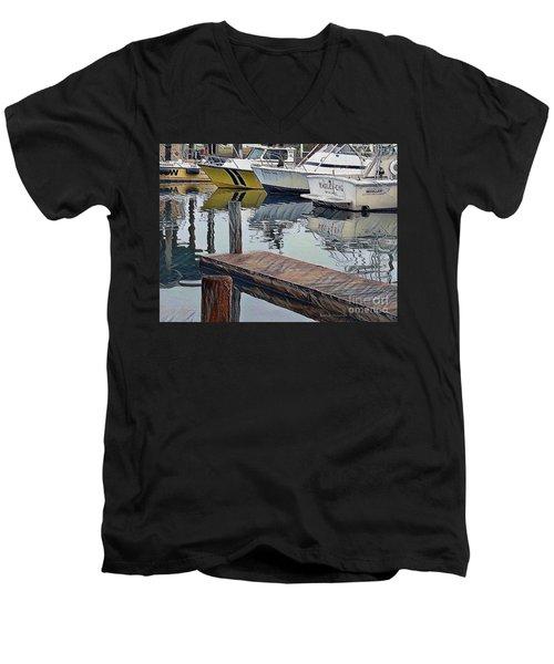 Corpus Christi Dock Men's V-Neck T-Shirt
