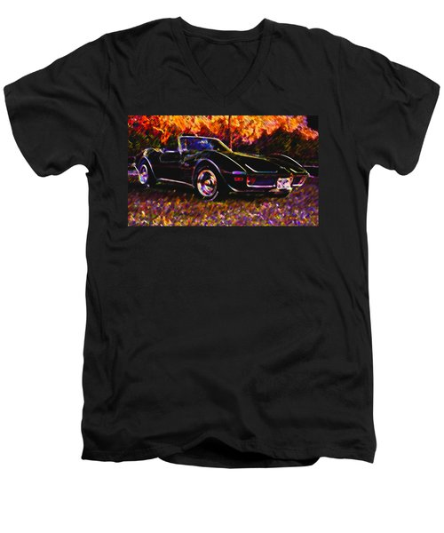 Corvette Beauty Men's V-Neck T-Shirt