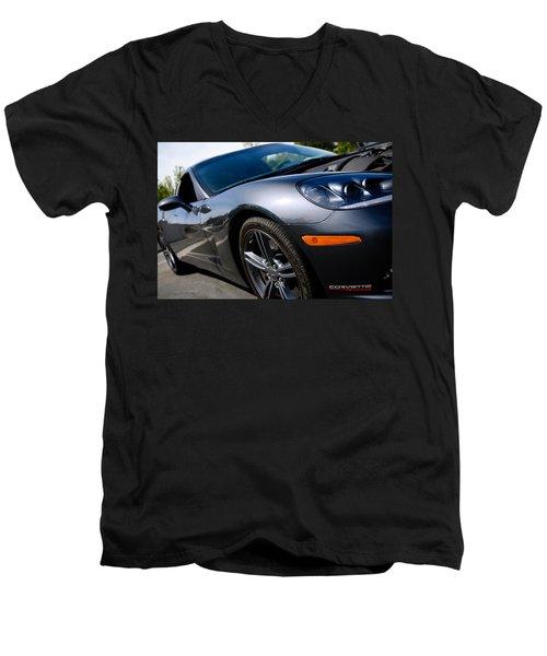 Corvette Racing Men's V-Neck T-Shirt