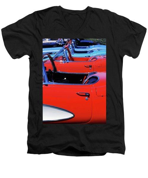 Corvette Row Men's V-Neck T-Shirt