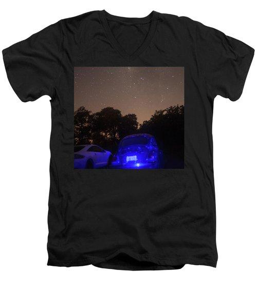 Cosmic Beetle 7 Men's V-Neck T-Shirt