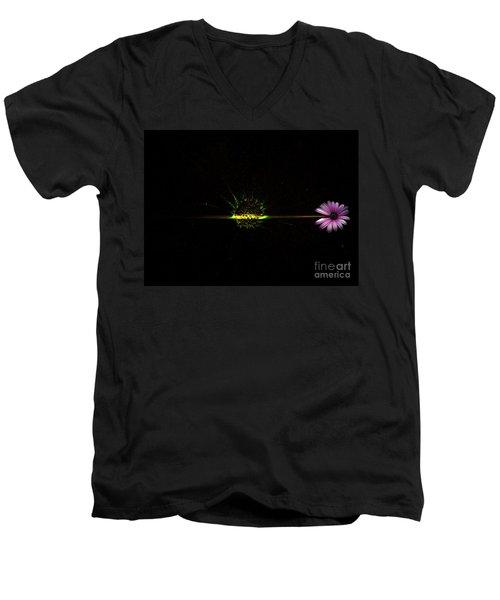 Cosmic Splash Men's V-Neck T-Shirt