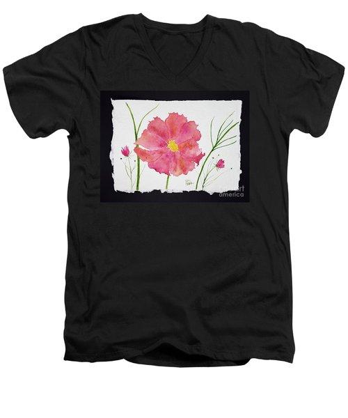 More Cosmos Men's V-Neck T-Shirt