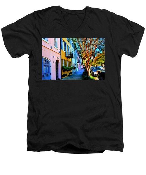 Count Your Rainbows Men's V-Neck T-Shirt