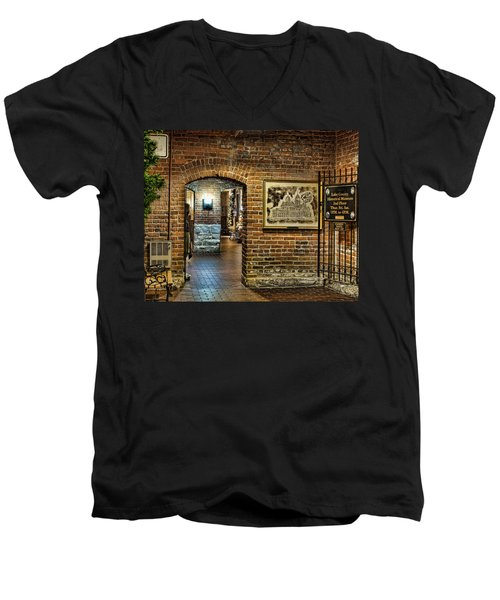 Courthouse Shops Men's V-Neck T-Shirt