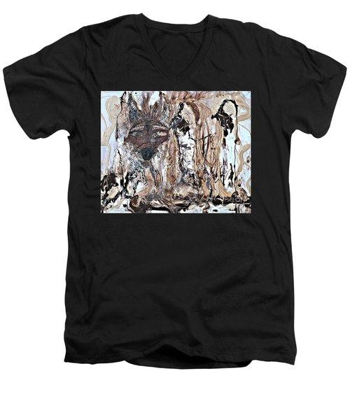 Coyote The Trickster Men's V-Neck T-Shirt