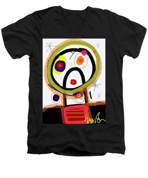 Kranky Pants Men's V-Neck T-Shirt