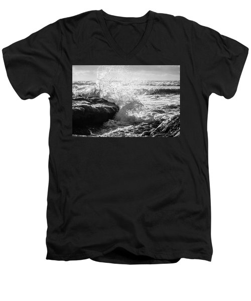 Wave Crashing  Men's V-Neck T-Shirt