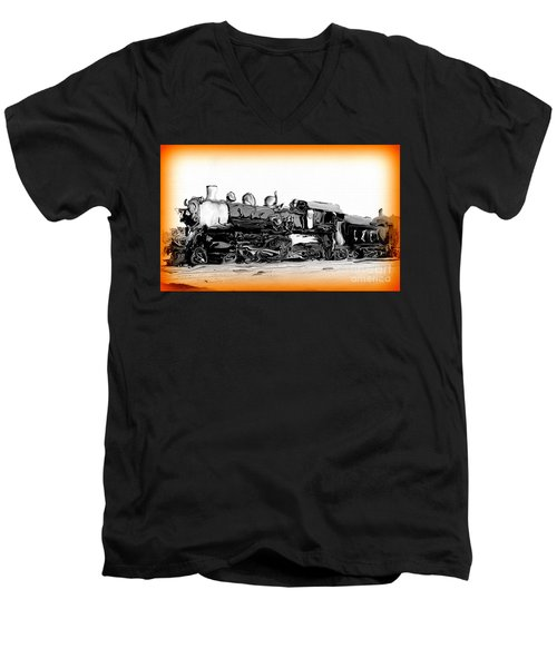 Crazy Train 2 Men's V-Neck T-Shirt