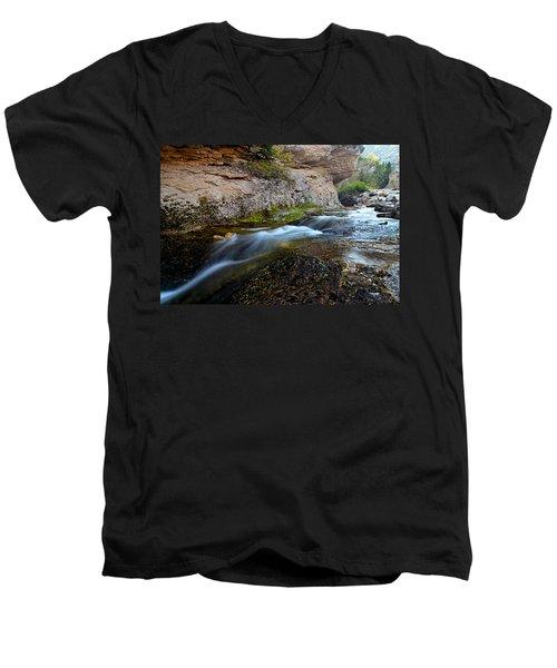 Crazy Woman Creek Men's V-Neck T-Shirt
