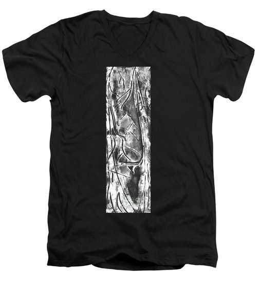 Creator Men's V-Neck T-Shirt by Carol Rashawnna Williams