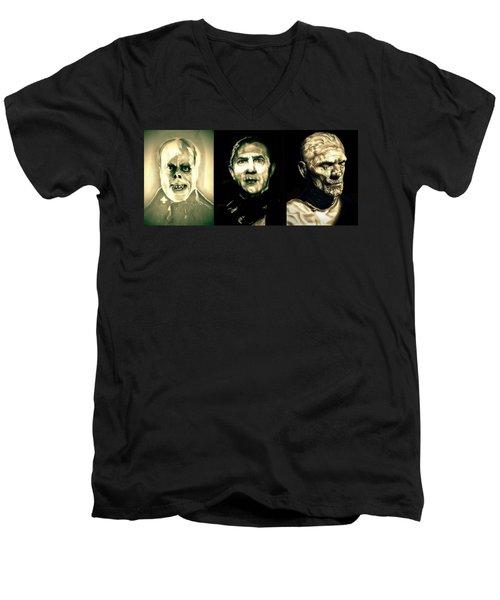 Creature Feature Men's V-Neck T-Shirt