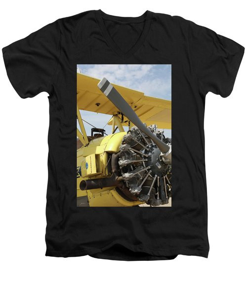 Crop Duster Men's V-Neck T-Shirt