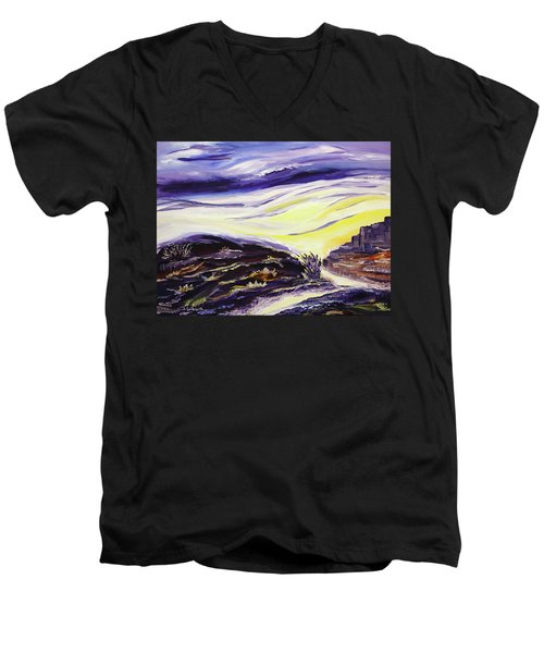 Crossroads Men's V-Neck T-Shirt