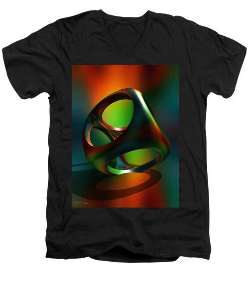 Crucible Men's V-Neck T-Shirt