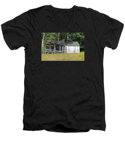 Crumbling Men's V-Neck T-Shirt