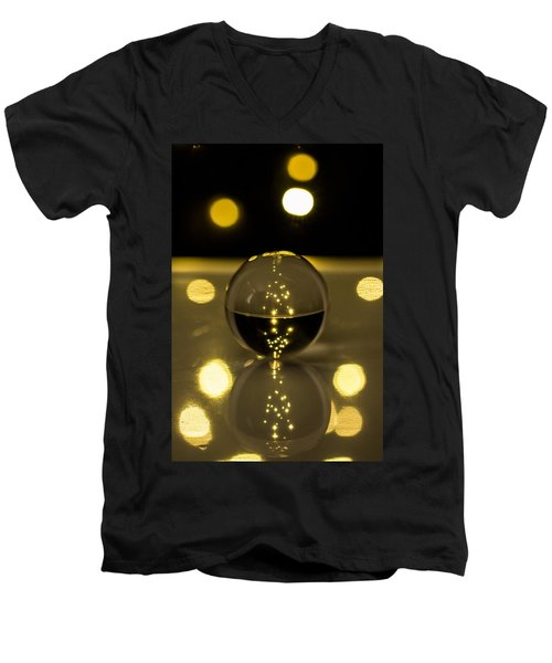 Crystal Ball Men's V-Neck T-Shirt