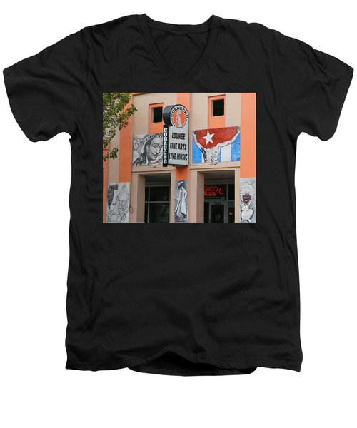Cubacho Lounge Men's V-Neck T-Shirt