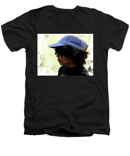 Cuenca Kids 1029 Men's V-Neck T-Shirt
