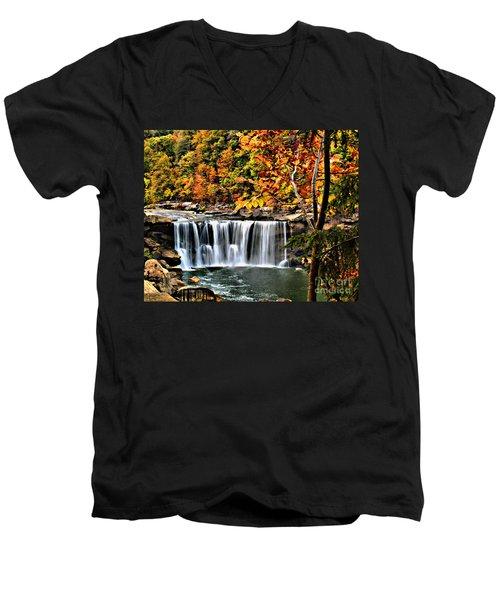 Cumberland Falls Men's V-Neck T-Shirt