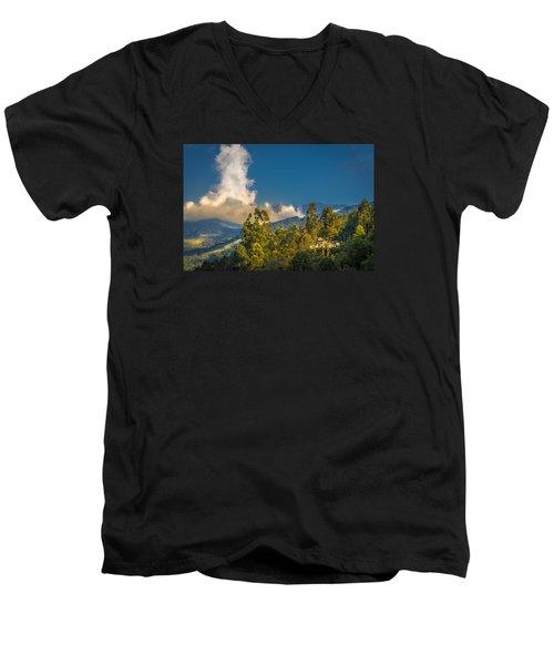Giant Over The Mountains Men's V-Neck T-Shirt