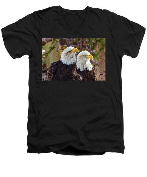 Curious Ones Men's V-Neck T-Shirt
