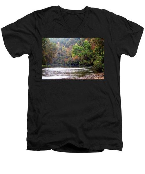 Current River 1 Men's V-Neck T-Shirt