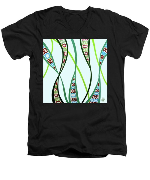 Curvaceous Men's V-Neck T-Shirt