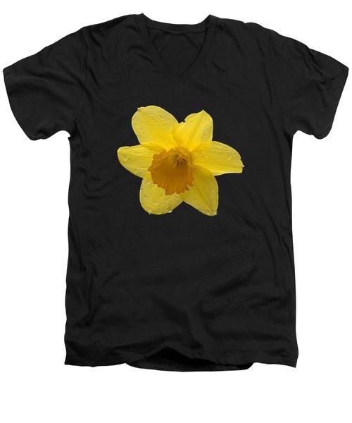 Daffodil Men's V-Neck T-Shirt by  Newwwman