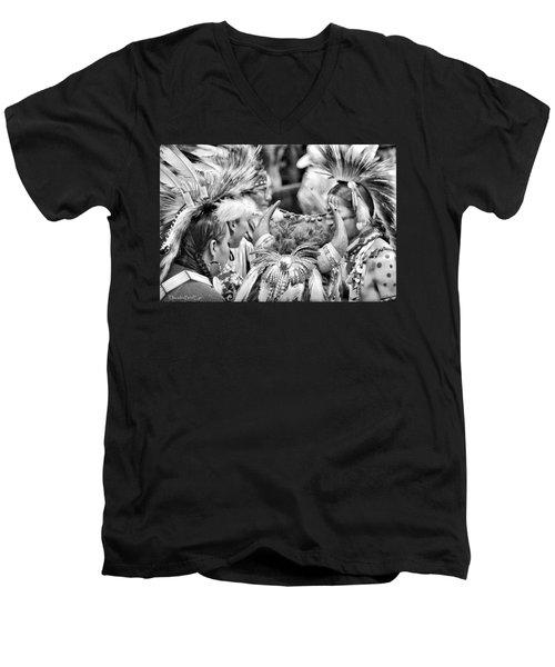 Dancers And Friends Men's V-Neck T-Shirt