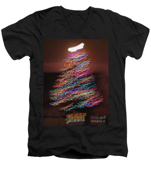 Dancin' Yule Men's V-Neck T-Shirt