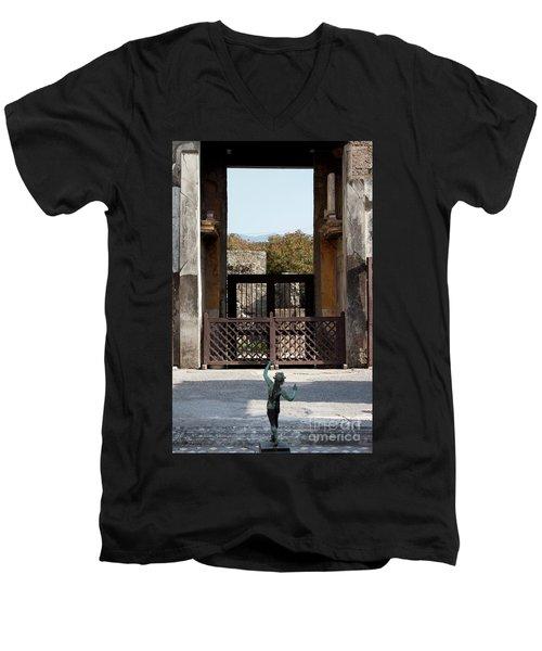 Dancing Faun Men's V-Neck T-Shirt