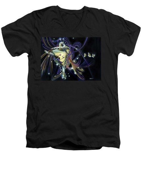 Dancing Stars Men's V-Neck T-Shirt