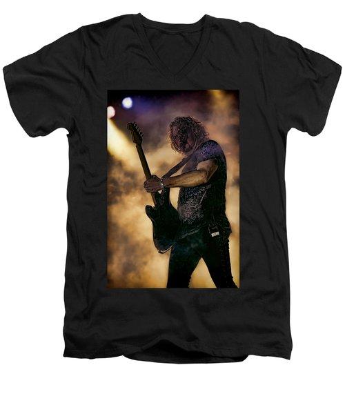 Danny Chauncey Vi Men's V-Neck T-Shirt