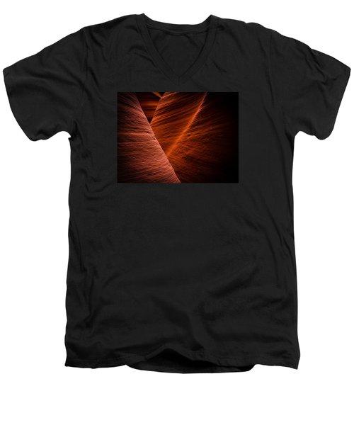 Dark Flow Men's V-Neck T-Shirt