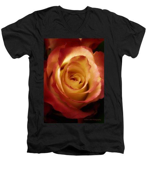 Dark Rose Men's V-Neck T-Shirt