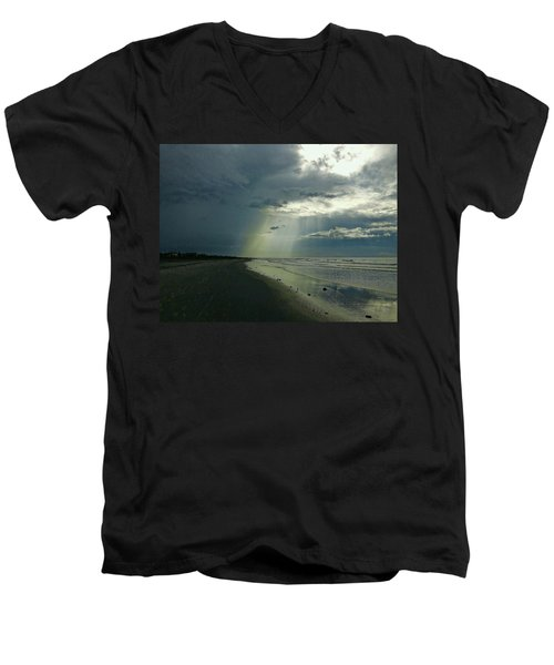 Dark To Enlightened Men's V-Neck T-Shirt