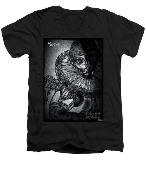 Darkness Clown Men's V-Neck T-Shirt