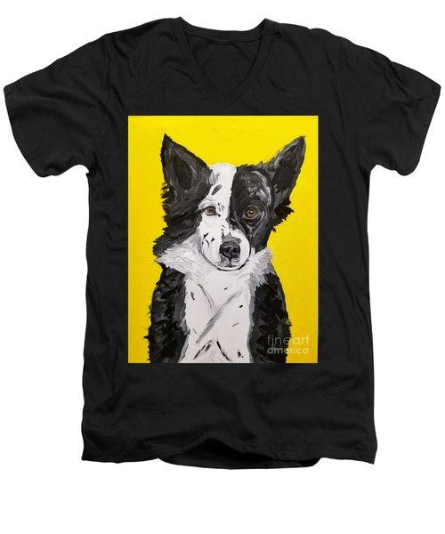 Dasha Date With Paint Nov 20th Men's V-Neck T-Shirt