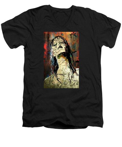 Daunted Damsel Men's V-Neck T-Shirt