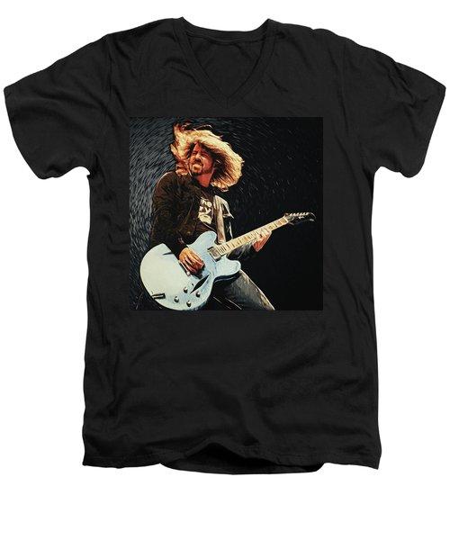 Dave Grohl Men's V-Neck T-Shirt