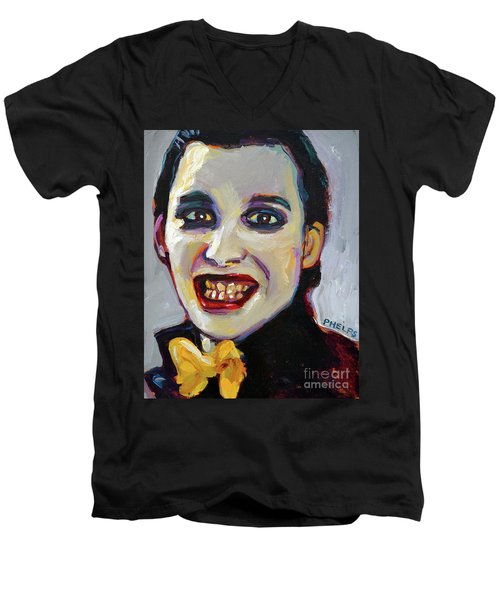Dave Vanian Of The Damned Men's V-Neck T-Shirt