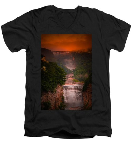 Dawn Inspiration Men's V-Neck T-Shirt