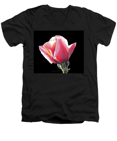 Dawn's Early Light - Pastel Men's V-Neck T-Shirt